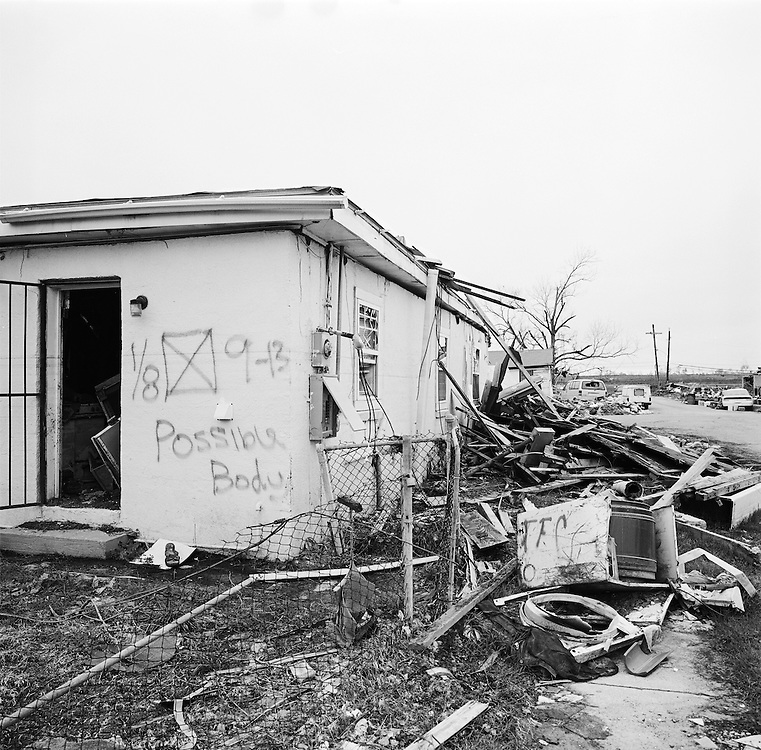 New Orleans, Lower Ninth Ward, six omths post Hurricane Katrina