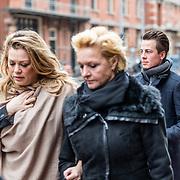 NLD/Amsterdam//20170309 - Herdenkingsdienst Guus Verstraete, Mariska van Kolck en Antje Monteiro