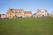 Golden Lion Hotel and town hall, Hunstanton, Norfolk, England