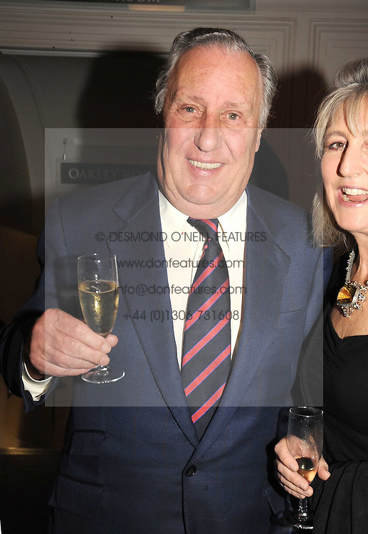 FREDERICK FORSYTH and COUNTESS ALEXANDER OF TUNIS at a party to celebrate the publication of 'Past Imperfect' by Julian Fellowes held at Cadogan Hall, 5 Sloane Terrace, London SW1 on 4th November 2008.