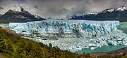 Perito Moreno glacier front, Parque Nacional Los Glaciares, Patagonia, Argentina.