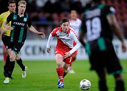 26-10-2012 VOETBAL: FC UTRECHT - FC GRONINGEN: UTRECHT<br /> Utrecht wint met 1-0 van Groningen / Thomas Oar<br /> ©2012-FotoHoogendoorn.nl