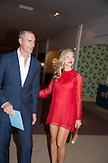 Ty Comfort; Caprice Bourret; Masterpiece Midsummer Party in aid of Marie Curie hosted by Heather Kerzner. Chelsea Hospital. London. 2 July 2013.