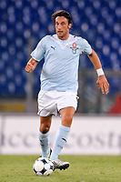 """Stefano Mauri Lazio<br /> Roma 20/8/2009 Stadio """"Olimpico"""" <br /> Europa League Play Offs<br /> Lazio-Elfsborg (3-0) <br /> Foto Andrea Staccioli Insidefoto"""