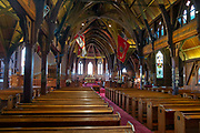 Interior of St Paul's church, Wellington, New Zealand