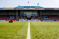 Stadium shot during the EFL Sky Bet League 1 match between Scunthorpe United and Doncaster Rovers at Glanford Park, Scunthorpe, England on 23 February 2019.