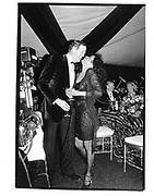 Diana Ross and David Koch. New Year's Eve Party. David Koch's House, Aspen. 1 Jan 95© Copyright Photograph by Dafydd Jones 66 Stockwell Park Rd. London SW9 0DA Tel 020 7733 0108 www.dafjones.com