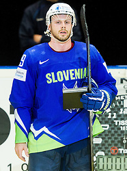 during Ice Hockey match between Slovenia and USA at Day 10 in Group B of 2015 IIHF World Championship, on May 10, 2015 in CEZ Arena, Ostrava, Czech Republic. Photo by Vid Ponikvar / Sportida