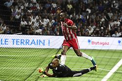 June 12, 2018 - Paris, France, France - Usain Bolt (Fifa98) vs Bernard Lama  (Credit Image: © Panoramic via ZUMA Press)
