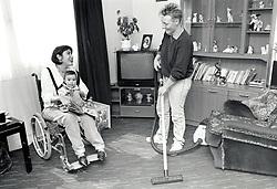Carer & disabled mother, UK 1991
