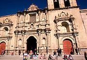 BOLIVIA, LA PAZ San Francisco church in the colonial area of the city