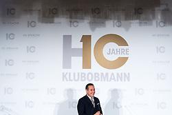 21.11.2016, Parlament, Wien, AUT, FPÖ, Feier anlässlich des 10 jährigen Jubiläums HC Strache´s als Klubobmann. im Bild Klubobmann FPÖ Heinz-Christian Strache // Leader of the parliamentary group FPOe Heinz Christian Strache during 10 years anniversary leader of the parliamentary group of the austrian freedom party in Vienna, Austria on 2016/11/21. EXPA Pictures © 2016, PhotoCredit: EXPA/ Michael Gruber