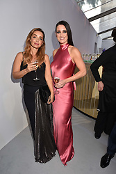 Left to right, Louise Redknapp and Kirsty Gallacher at the Glamour Women of The Year Awards 2017 in association with Next held in Berkeley Square Gardens, London England. 6 June 2017.