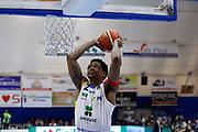 Faust Nicholas<br /> Betaland Capo d'Orlando - Sidigas Avellino <br /> Campionato Basket Lega A 2017-18 <br /> Capo d'Orlando 22/04/2018<br /> Foto Ciamillo-Castoria