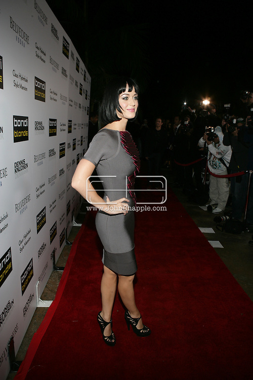 9th February 2009, Beverly Hills, California. Singer Katy Perry at Bondi Blonde's Style Mansion International Party, which was hosted by singer Katy Perry. PHOTO © JOHN CHAPPLE / REBEL IMAGES.tel: +1-310-570-910