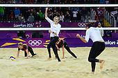 Beach Volleyball, Womens - CZE (Kolocova/Slukova) vs USA (May-Treanor/Walsh)