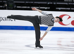 February 7, 2019 - Los Angeles, California, U.S - Keegan Messing of Canada competes in the Men Short Program during the ISU Four Continents Figure Skating Championship at the Honda Center in Anaheim, California on February 7, 2019. (Credit Image: © Ringo Chiu/ZUMA Wire)