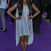 London,England,UK : 15 June 2016 : Aj Odudu attend the Disney's Aladdin Opening Night at the Prince Edward Theatre on Old Compton Street, Soho, London. Photo by See Li