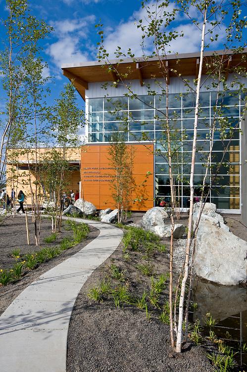 Morris Thompson Center, a visitor center in Fairbanks, Alaska