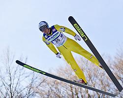 05.02.2011, Heini Klopfer Skiflugschanze, Oberstdorf, GER, FIS World Cup, Ski Jumping, Probedurchgang, im Bild Wolfgang Loitzl (AUT) , during ski jump at the ski jumping world cup Trail round in Oberstdorf, Germany on 05/02/2011, EXPA Pictures © 2011, PhotoCredit: EXPA/ P. Rinderer
