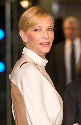 Cate Blanchett nominated  best leading actress for the Oscars 2014.<br /> Cate Blanchett during the Premiere of 'The Hobbit; An Unexpected Journey' , Odeon Leicester Square, London, UK, December 12, 2012. Photo by i-Images.