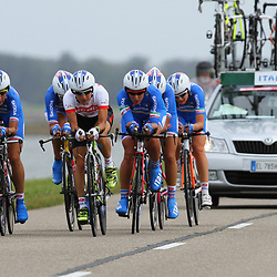 Brainwash Ladiestour Dronten Team Time Trail Team Italia Ilaria Sanguinetti; Giorgia Bronzini; Elena Checchini; Beatrice Bartelotti; Chiara Vannucci; Anna Zita Maria Stricker