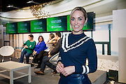 27/1/16 Kathryn Thomas, former Travel Writer of the Year at the Holiday World Show 2017 at the RDS Simmonscourt in Dublin which runs to Sunday 29th January.. Picture: Arthur Carron