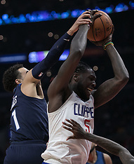 Clippers v Timberwolves - 06 Dec 2017