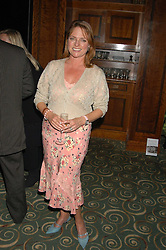 Former Blue Peter presenter JANET ELLIS at a party to celebrate the publication of 'Next To You' - Caron's Courage remembered by her mother Gloria Hunniford held on Caron's birthday at The Hilton Park Lane, London on 5th Octobe 2005.<br /><br />NON EXCLUSIVE - WORLD RIGHTS