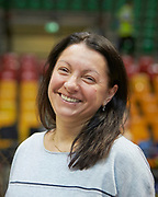 Mariana Vasileva coach of Azerbaijan rhythmic gymnastics team