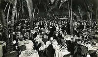 1938 An evening at the Cocoanut Grove