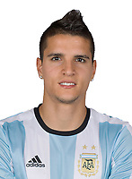 Conmebol - World Cup Fifa Russia 2018 Qualifier / <br /> Argentina National Team - Preview Set - <br /> Erik Lamela