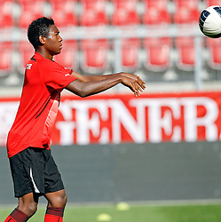 09.08.2011, Wörthersee-Arena, Klagenfurt, AUT, OEFB Training, im Bild David Alaba (AUT) // during a Trainingssession of the Nationalteam from Austria, W?rthersee Arena, Klagenfurt, 2010-08-09 , EXPA Pictures © 2011, PhotoCredit: EXPA/ O. Hoeher