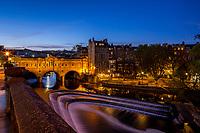 Pulteney Bridge at Blue Hour, City of Bath, UK