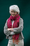 Scottish artist Jane Frere pictured at the Edinburgh International Book Festival where she talked her project on Palestine entitled Nakbah: Return of the Soul. The three-week event is the world's biggest literary festival and is held during the annual Edinburgh Festival. 2008 was the Book Festival's 25th anniversary and featured talks and presentations by more than 500 authors from around the world.