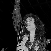 ALLENTOWN AUGUST 11: Ronnie James Dio performs on August 11, 1990 in Allentown, Pennsylvania. ©Lisa Lake