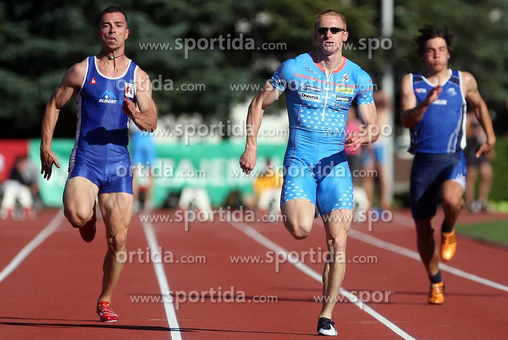Bostjan Fridrih, Matic Osovnikar and Janez Sifkovic at Athletic National Championship of Slovenia, on July 19, 2008, in Stadium Poljane, Maribor, Slovenia. (Photo by Vid Ponikvar / Sportal Images).