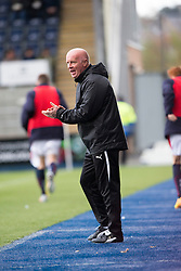Falkirk's manager Peter Houston.<br /> Falkirk 6 v 0 Cowdenbeath, Scottish Championship game played at The Falkirk Stadium, 25/10/2014.
