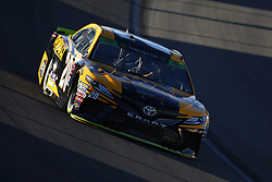 September 14, 2018 - Las Vegas, Nevada, United States of America - Erik Jones (20) brings his car through the turns during qualifying for the South Point 400 at Las Vegas Motor Speedway in Las Vegas, Nevada. (Credit Image: © Chris Owens Asp Inc/ASP via ZUMA Wire)