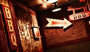 Back alley BBQ in Washington DC