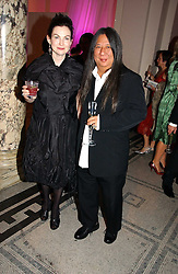 JOHN ROCHA and  at the British Fashion Awards 2006 sponsored by Swarovski held at the V&A Museum, Cromwell Road, London SW7 on 2nd November 2006.<br /><br />NON EXCLUSIVE - WORLD RIGHTS