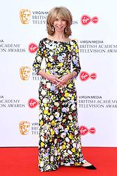 Helen Worth attending the Virgin Media BAFTA TV awards, held at the Royal Festival Hall in London. Photo credit should read: Doug Peters/EMPICS