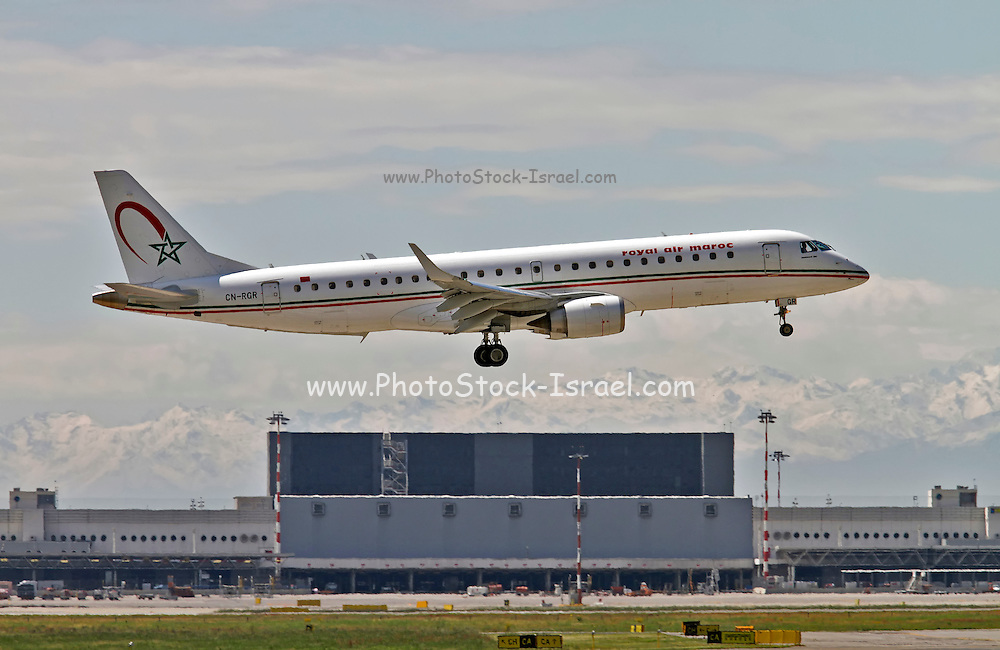 Royal Air Maroc Embraer 190-195 at Milan - Malpensa (MXP / LIMC) Italy