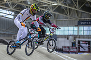 #227 (WEBSTER Liam) GER during practice at the 2019 UCI BMX Supercross World Cup in Manchester, Great Britain