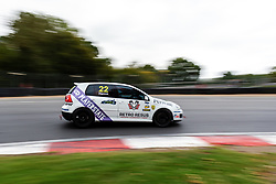 Adam Hance pictured while competing in the BRSCC Production GTI Championship. Picture taken at Brands Hatch on 26/27 September, 2020 by BRSCC photographer Jonathan Elsey