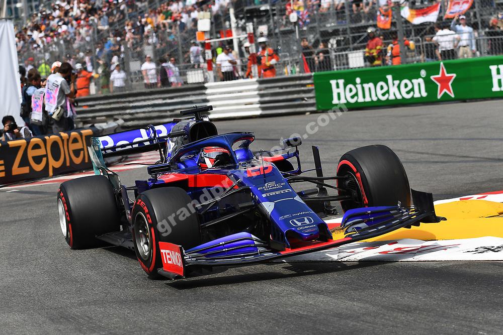 Daniil Kvyat (Toro Rosso-Honda) during qualifying before the 2019 Monaco Grand Prix. Photo: Grand Prix Photo
