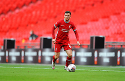 Andrew Robertson of Liverpool in action - Mandatory by-line: Nizaam Jones/JMP - 29/08/2020 - FOOTBALL - Wembley Stadium - London, England - Arsenal v Liverpool - FA Community Shield