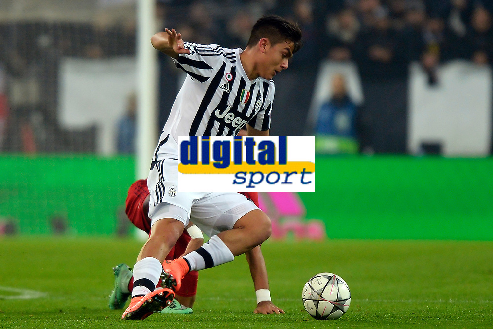 Paulo Dybala Juventus <br /> Torino 23-02-2016 Juventus Stadium, Football Champions League 2015/2016 Round of 16 Juventus - Bayern Munich / Juventus - Bayern Monaco .  Foto Filippo Alfero / Insidefoto