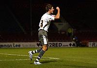 Photo: Olly Greenwood.<br />Leyton Orient v Bristol City. Coca Cola League 1. 01/11/2006. Bristol's Barry Corr celebrates scoring