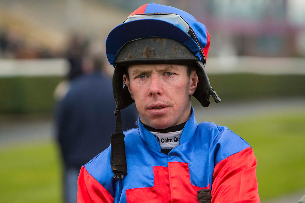 Navan Races, Saturday 27th February 2016.<br /> Jockey Andrew Lynch<br /> Photo: David Mullen /www.cyberimages.net / 2016